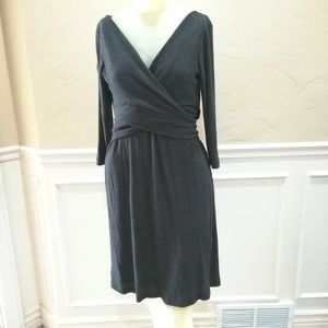Amadi gray sweater dress